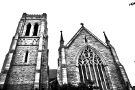 Anglican Cathedral front BW