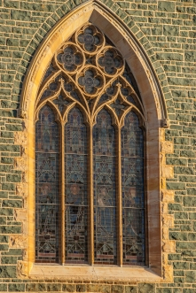 Stained Glass Catholic Church