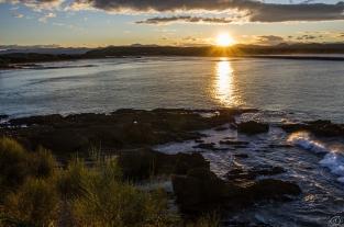 Sunset at Moruya
